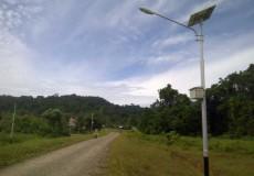 Pju dengan solar cell